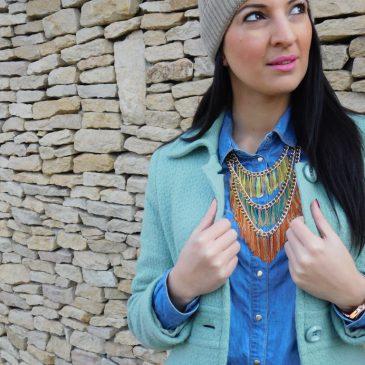 Outfit ötlet ünnepi bevásárláshoz